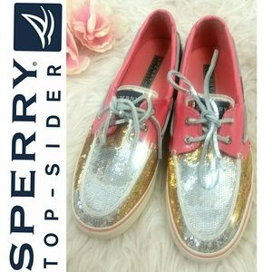 SPERRY TOP-SIDER Sequins Slip-On sneakers  boat
